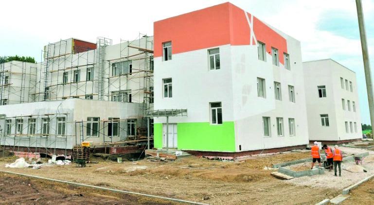Национальные проекты – детям Прикамья. В Пермском крае идёт большая стройка, скоро будут сданы в эксплуатацию 14 новых школ и 13 детских садов.